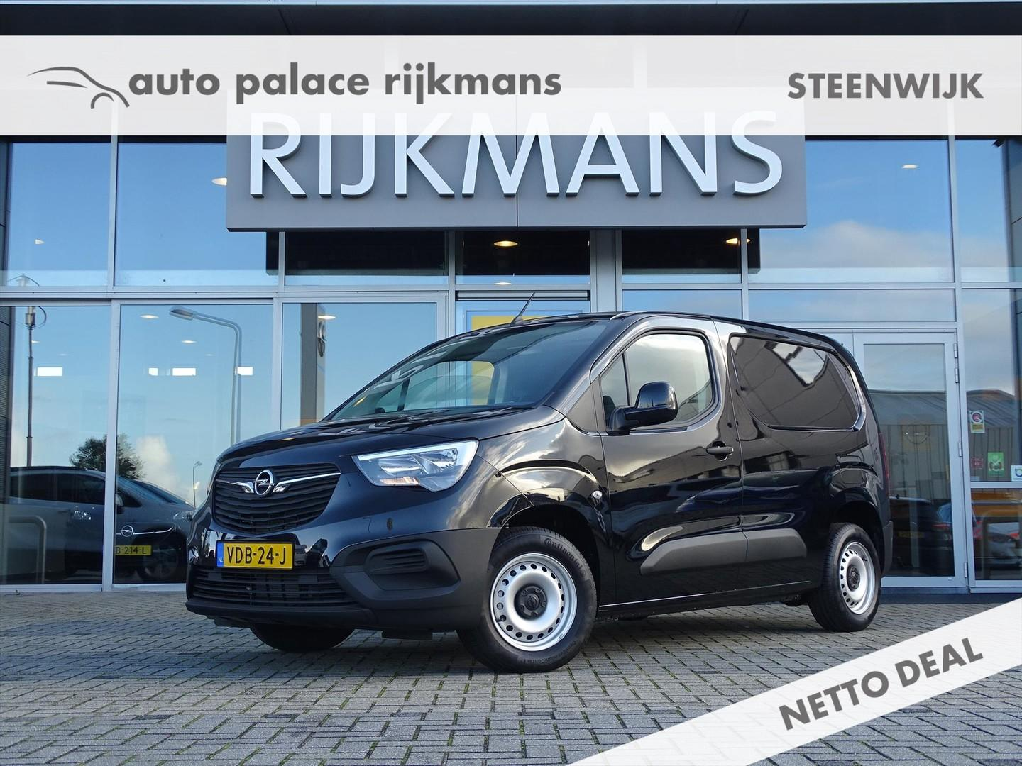 Opel Combo Cargo new edition l1h1 75 pk - edition+ pack - zwart - airco - cruise