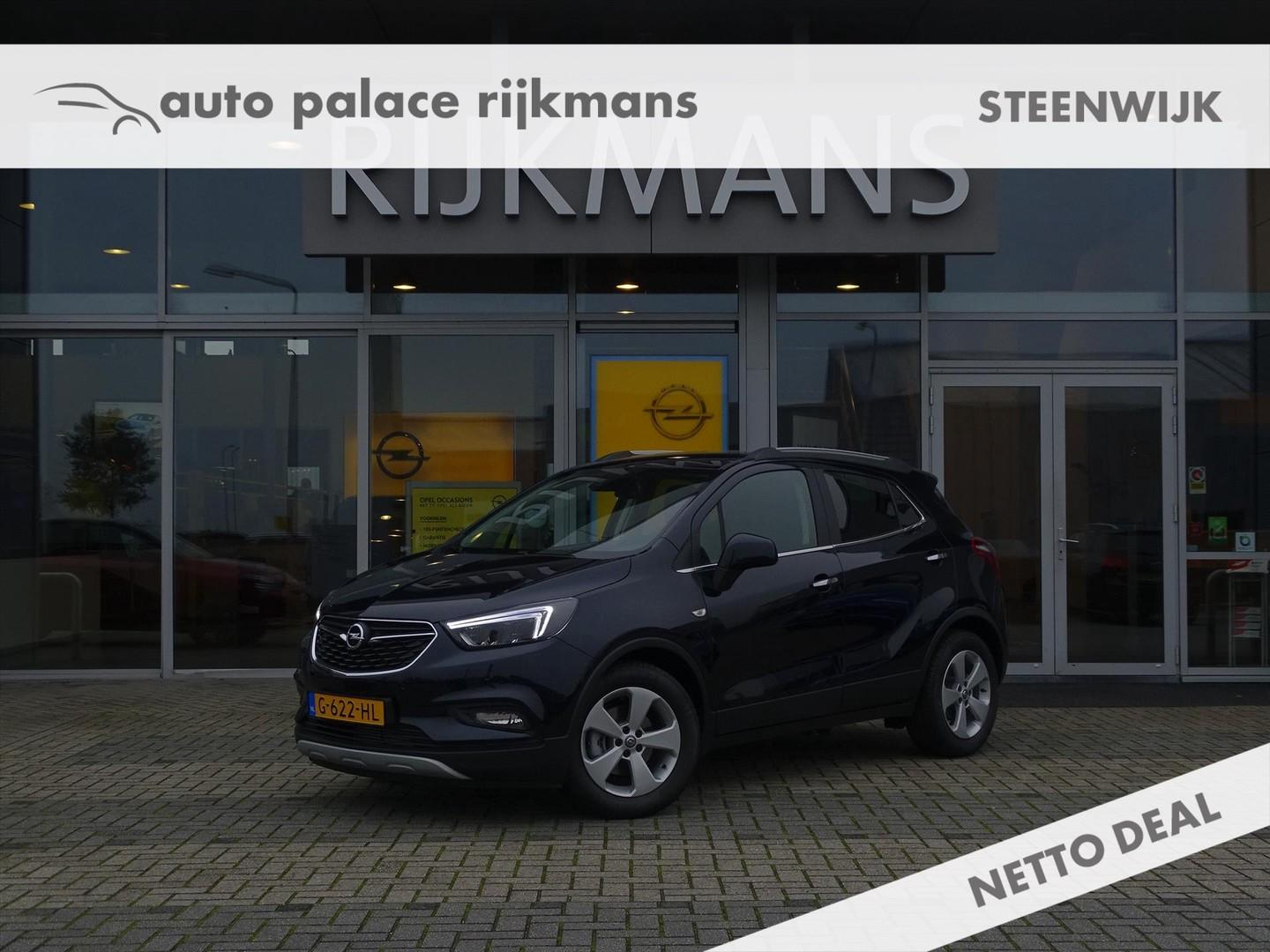 Opel Mokka x Innovation 1.4t 140 pk - leer - adapt. led - zeer compleet