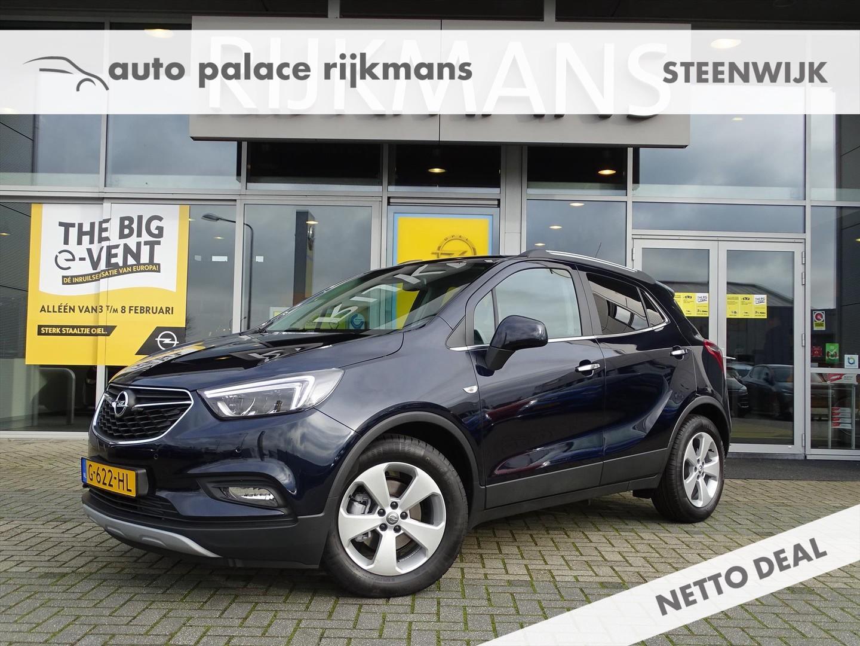 Opel Mokka x Innovation 1.4t 140 pk - leer - adapt. led - zeer compleet