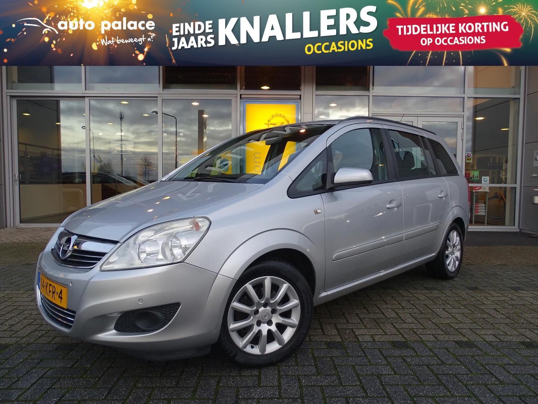 Opel Zafira Temptation 1.6 115 pk - navi - trekhaak - airco - cruise control - parkeersensoren voor en achter - nette auto