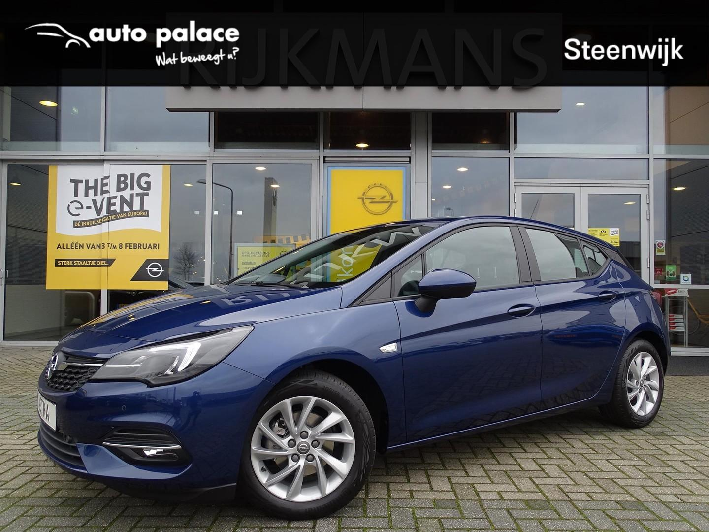 Opel Astra Edition 1.2t 130 pk - edition+ pack - led - multimedia navi - climate - cruise - parkpilot - camera
