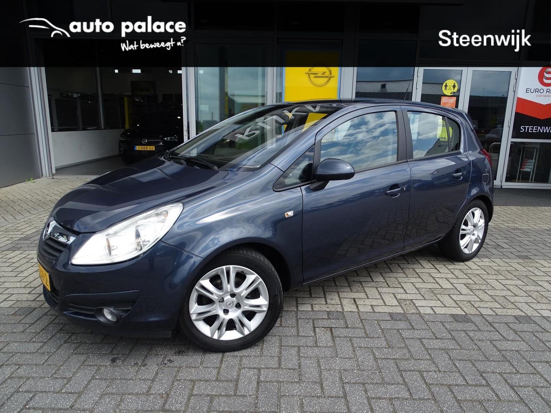 """Opel Corsa Cosmo 1.4 90 pk - 5drs - clima - cruise - parkpilot - trekhaak - 16"""" lm - zeer goed onderhouden!"""