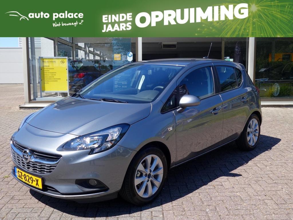 Opel Corsa 1.4-16v 90pk 5drs favourite+ navigatie parkpilot cruisecontrol