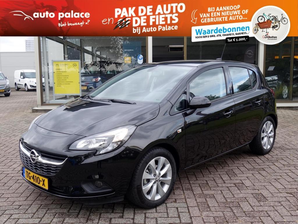 Opel Corsa 1.4-16v 90pk 5drs favourite navigatie parkpilot cruise lmv