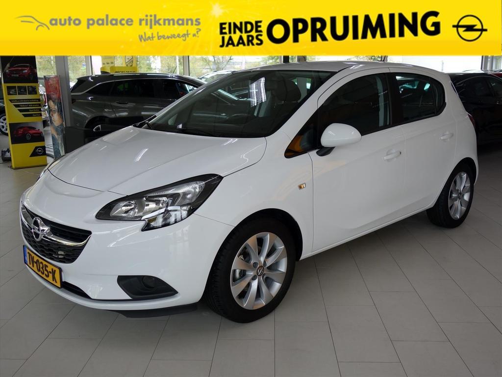 Opel Corsa 1.4-16v 90pk 5drs favourite navi cruisecontrol parkpilot lmv