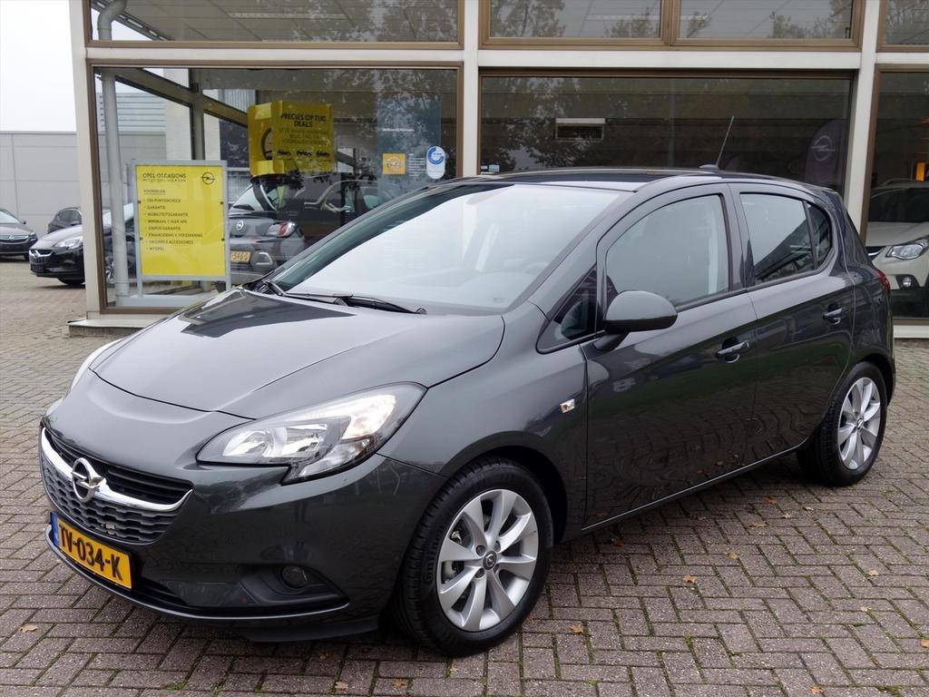 Opel Corsa 1.4-16v 90pk 5drs favourite airco navigatie parkpilot lm-velgen
