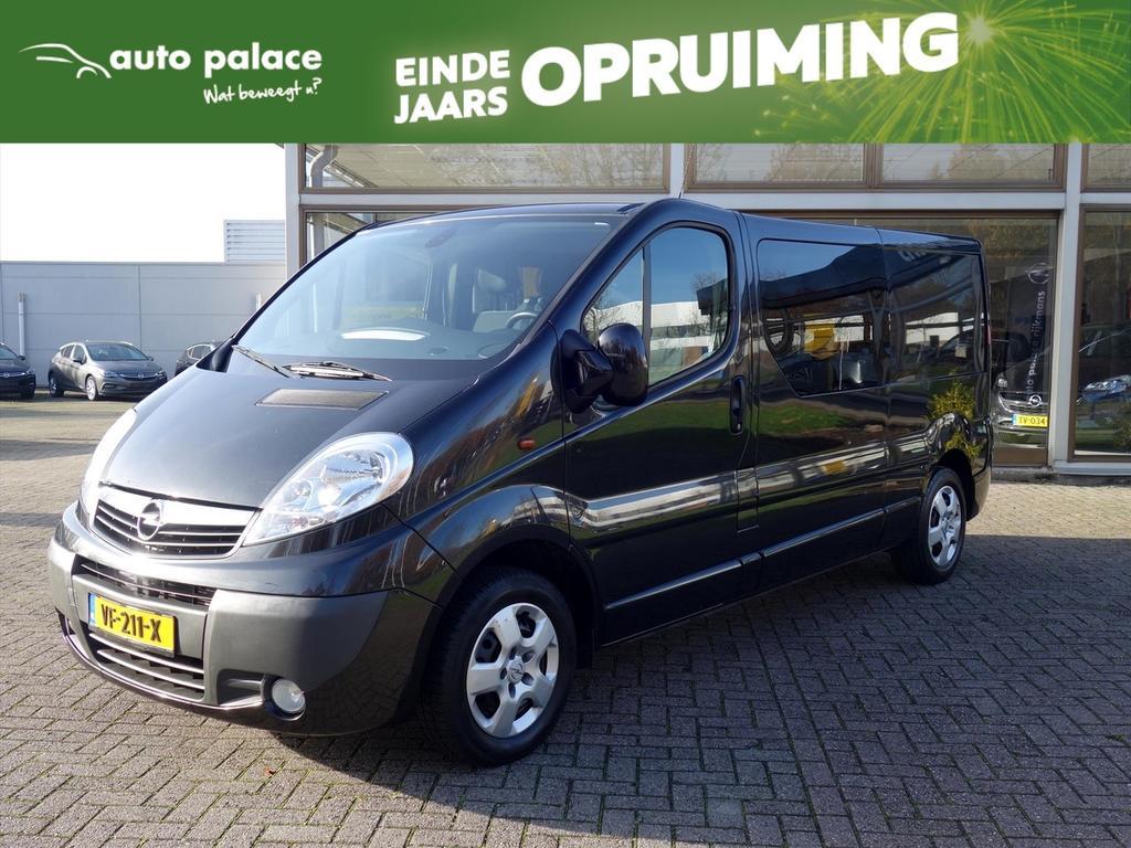 Opel Vivaro 2.0 cdti 135pk l2 dub.cabine executive airco cruise elek.pakket
