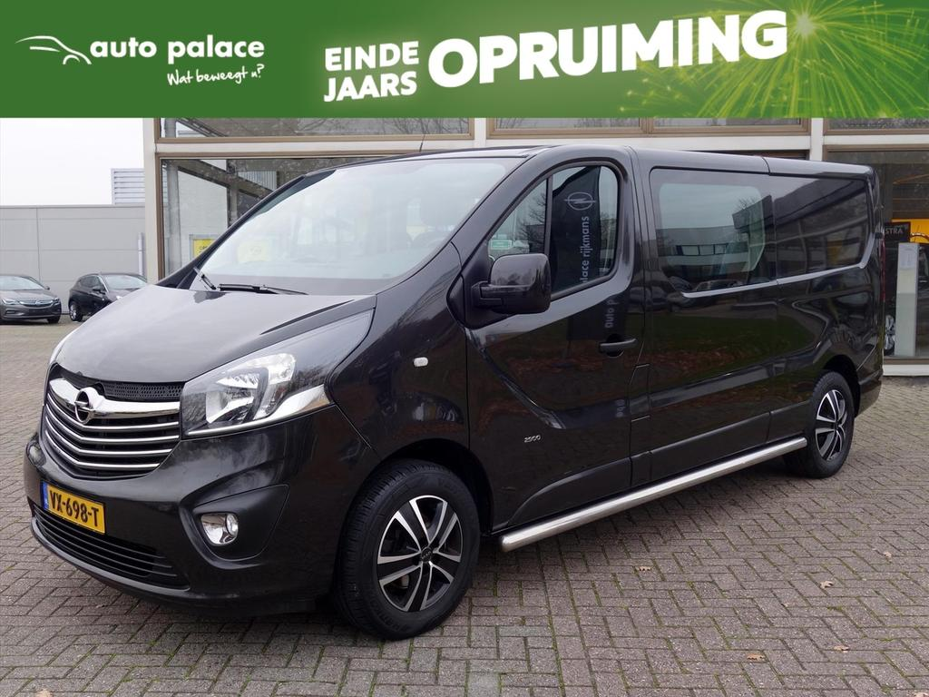 Opel Vivaro Dc 1.6 cdti 120pk bi-turbo l2h1 sport navigatie lm-velgen