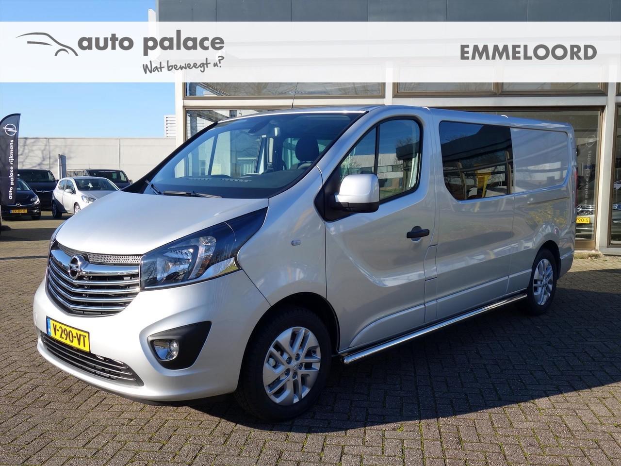 Opel Vivaro 1.6 cdti biturbo 125pk l2h1 innovation dub.cabine airco camera