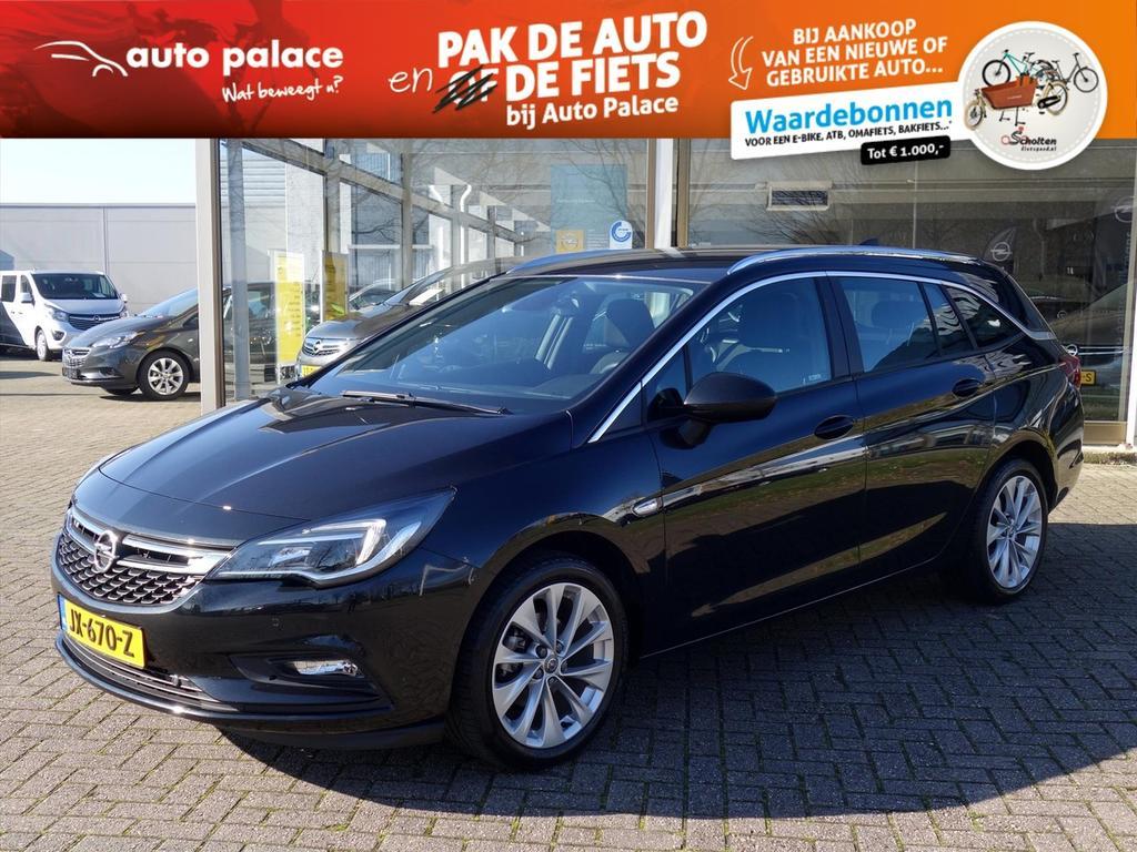"""Opel Astra 1.4 turbo 150pk edition ecc navi camera """"onstar"""" 17""""lm-velgen"""