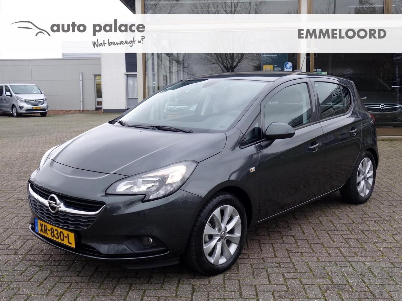 Opel Corsa 1.4-16v 90pk 5drs favourite+ airco navigatie dab+ parkpilot lmv