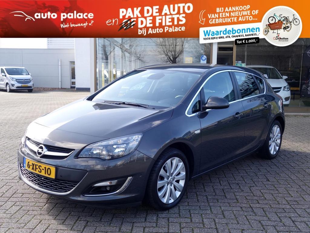 Opel Astra 1.4 turbo 140pk cosmo 5drs navi950 ecc parkpilot camera trekhaak