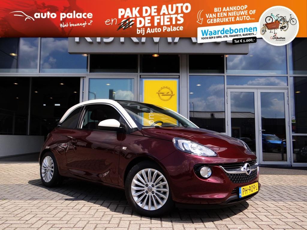 Opel Adam 1.0 turbo 90pk adam glam ecc leder lm-velgen panoramadak