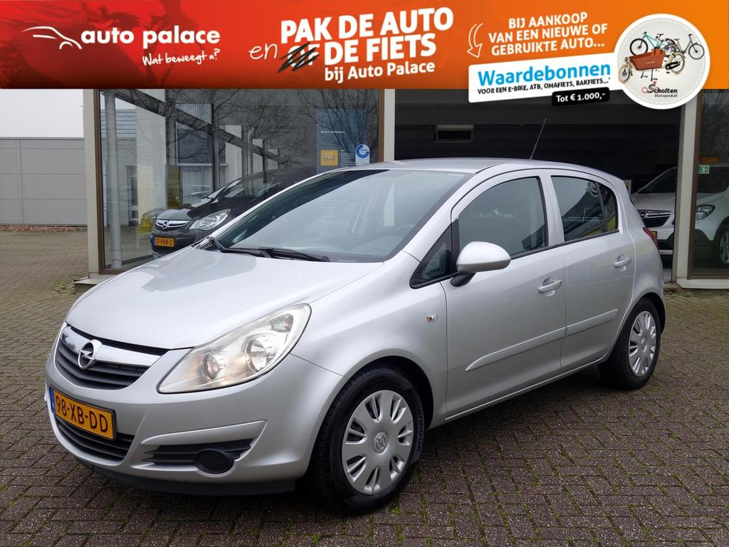 Opel Corsa 1.4-16v enjoy 5-deurs airconditioning cruisecontrol trekhaak