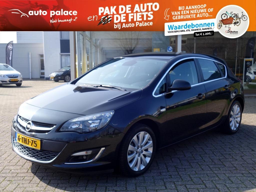 Opel Astra 1.4 turbo 120pk cosmo 5-drs ecc navi-600 parkpilot trekhaak agr