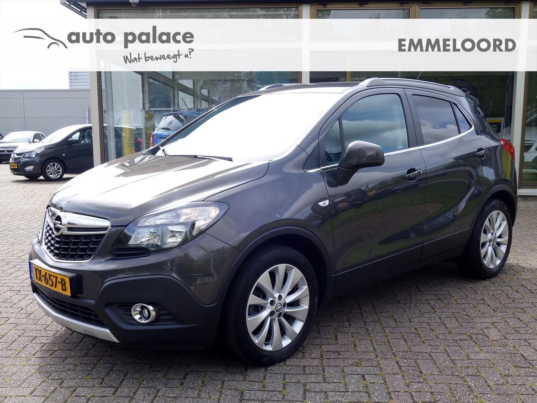"""Opel Mokka 1.6 cdti 136pk cosmo ecc navi-950 leder winterpakket 18"""" lmv"""
