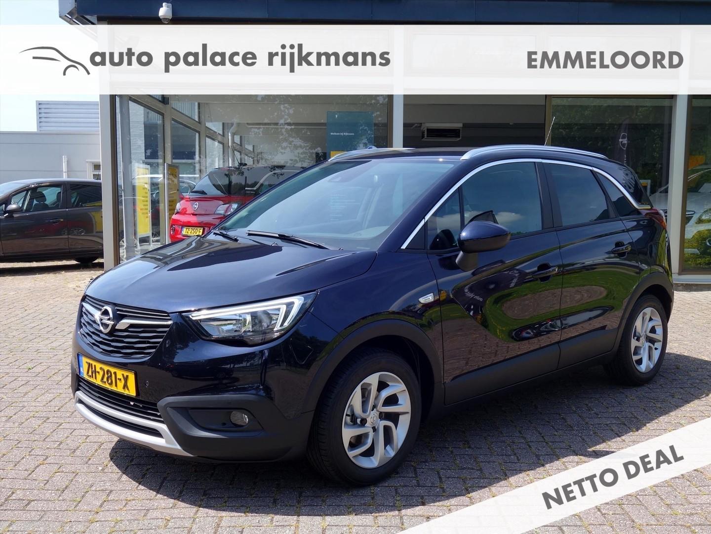 Opel Crossland x 1.2 innovation navigatie ecc agr apple carplay parkpilot lmv