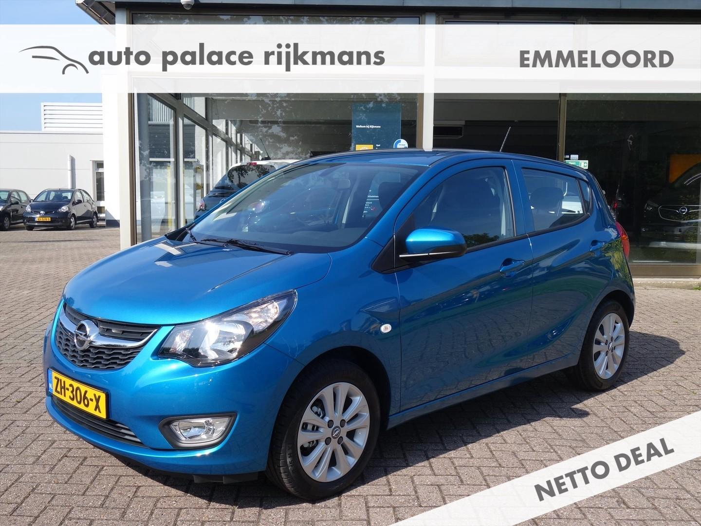 Opel Karl 1.0 75pk 120 years edition+ airco cruisecontrol parkpilot lmv