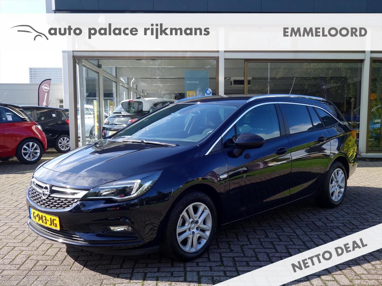 Opel Astra Sports tourer 1.0 turbo 105pk online edition+ pakket ecc applecar play cruise