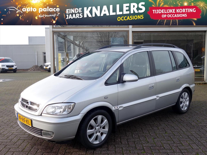 Opel Zafira 1.6-16v maxx cool 7-persoons ecc elektrisch-pakket cruisecontrol trekhaak winterbandenset