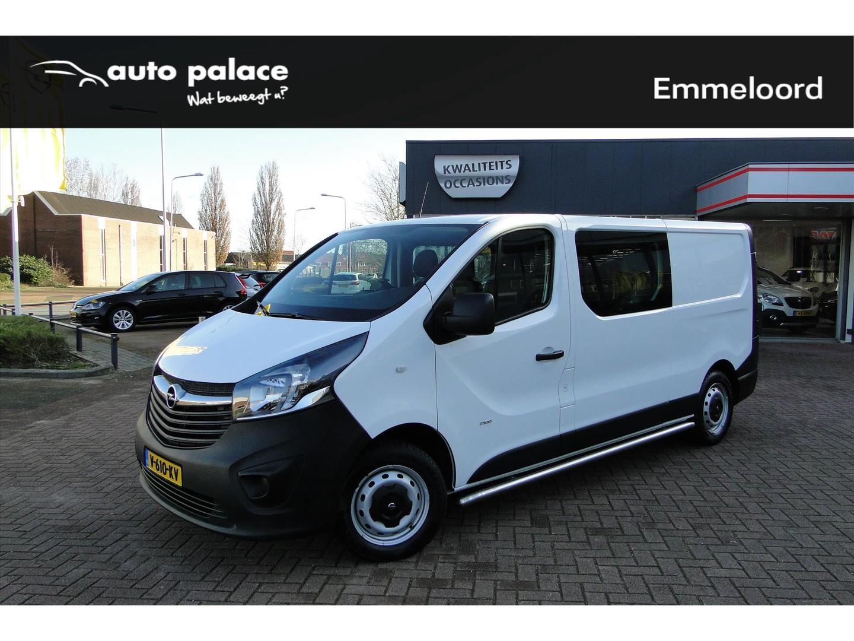 Opel Vivaro 1.6 cdti 120pk l2 dubb. cabine navi/trekhaak