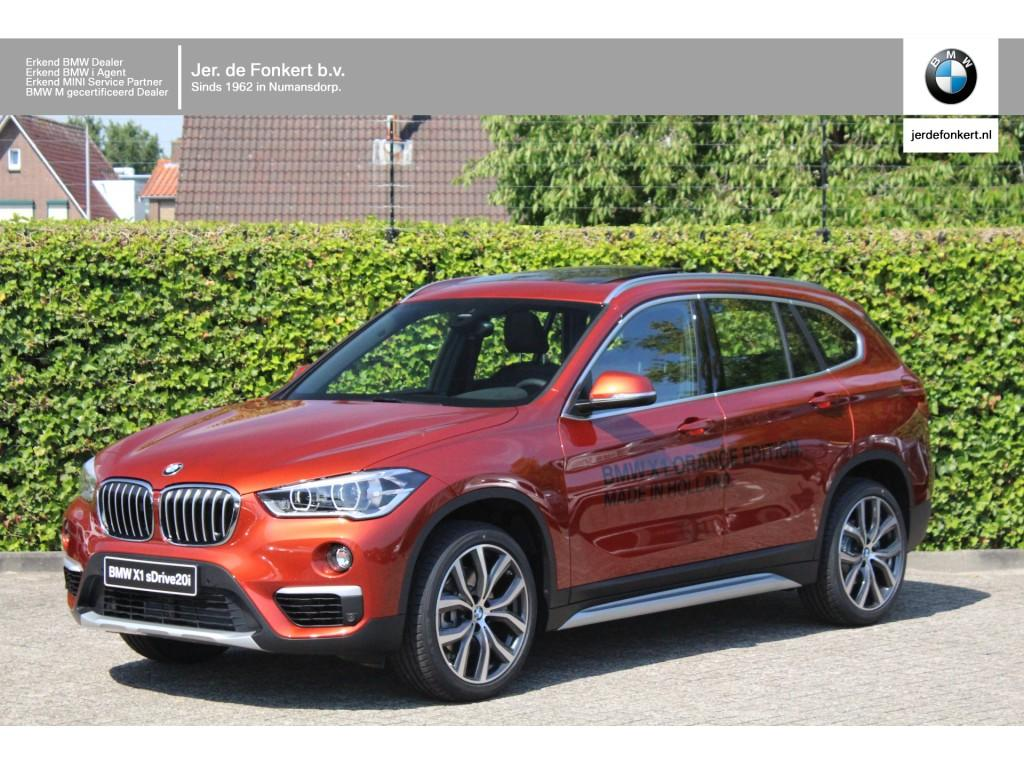 Bmw X1 Sdrive20i high executive / audio media pack / orange edition