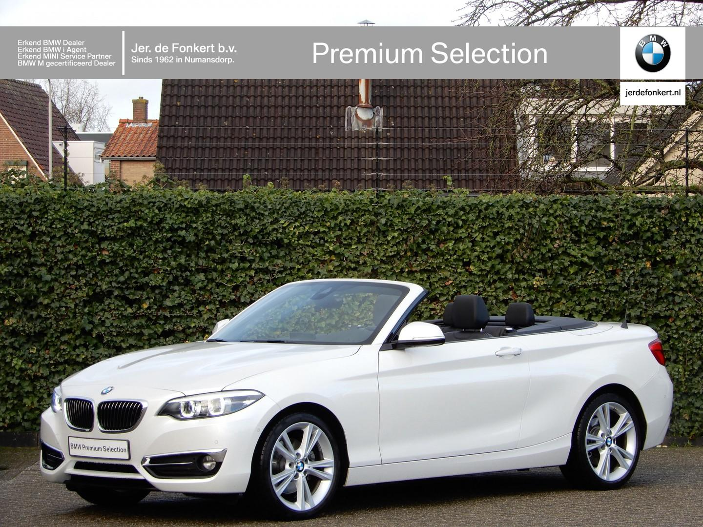 Bmw 2 serie Cabrio 220i high exe