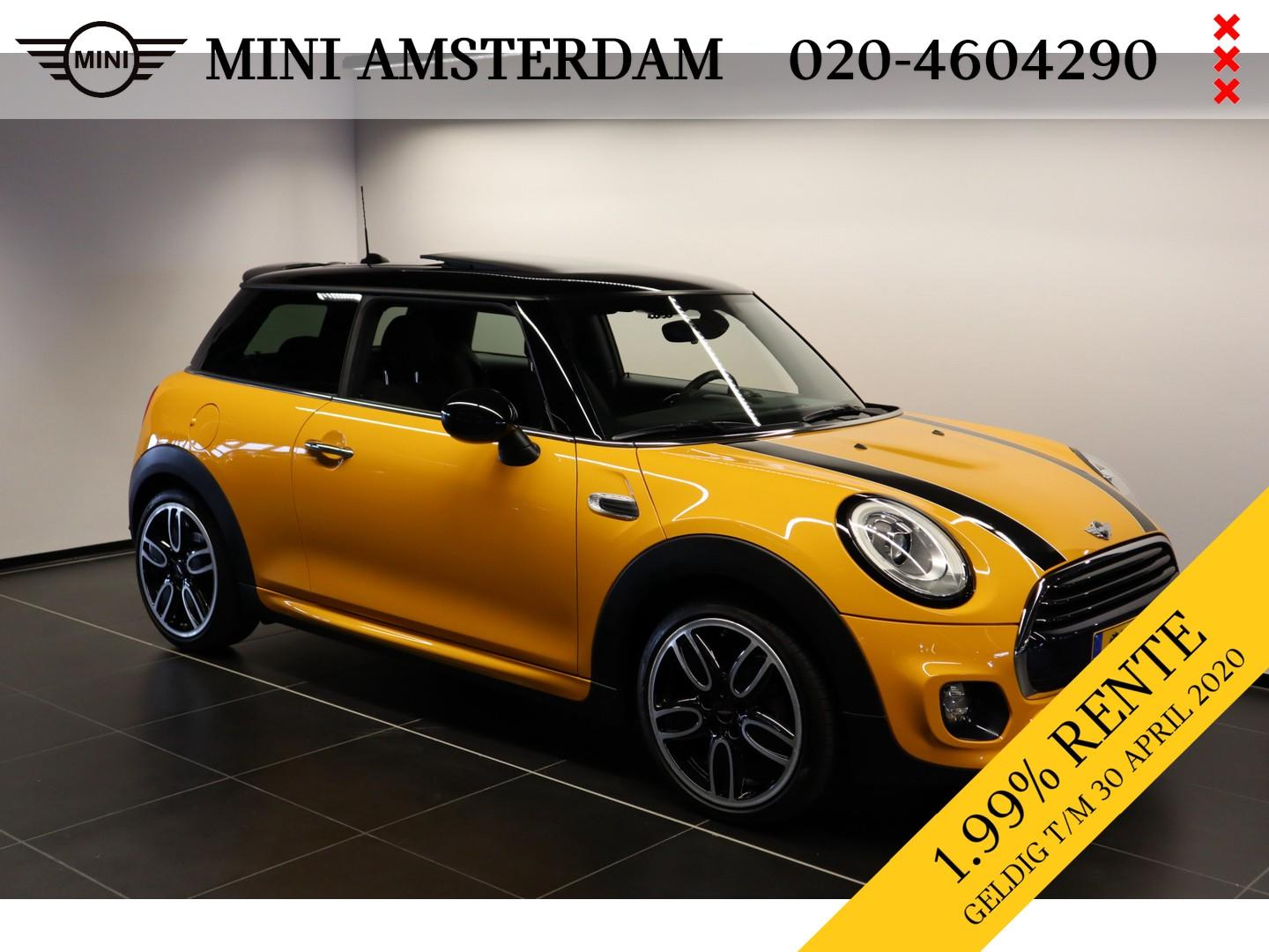 Mini 3-deurs 1.5 cooper business john cooper works trim
