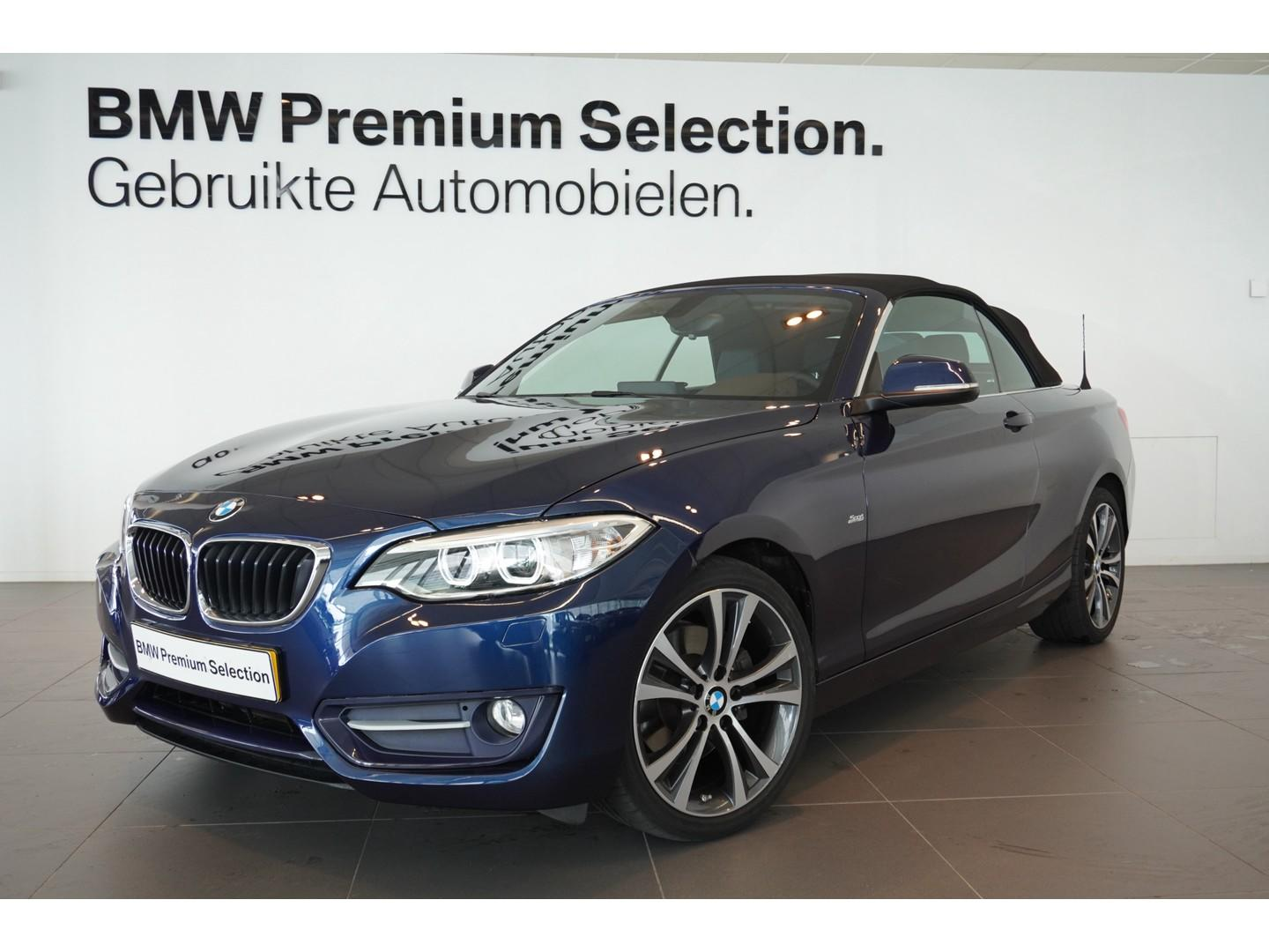 Bmw 2 serie Cabrio 220i sportline high executive
