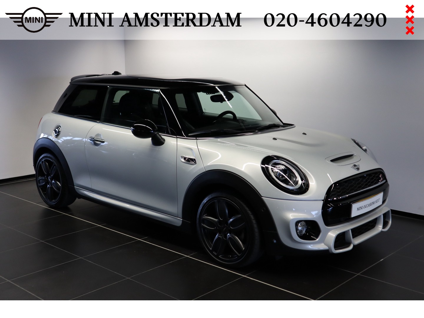 Mini 3-deurs 2.0 cooper s knightsbridge edition