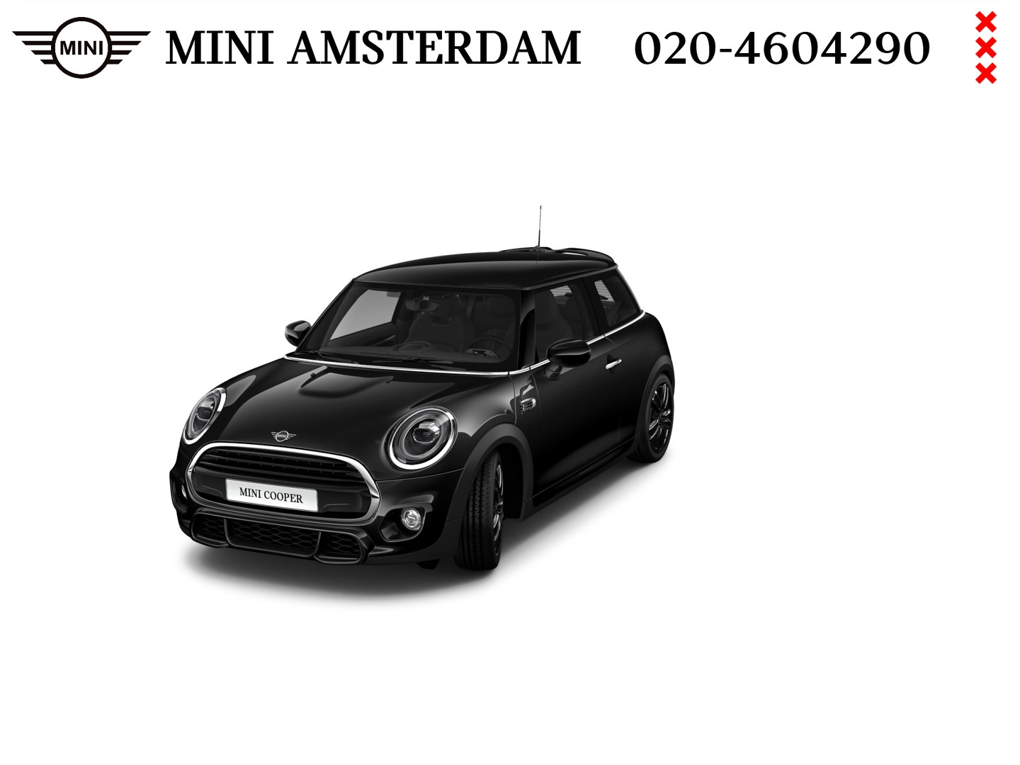 Mini 3-deurs 1.5 cooper dalston edition business plus