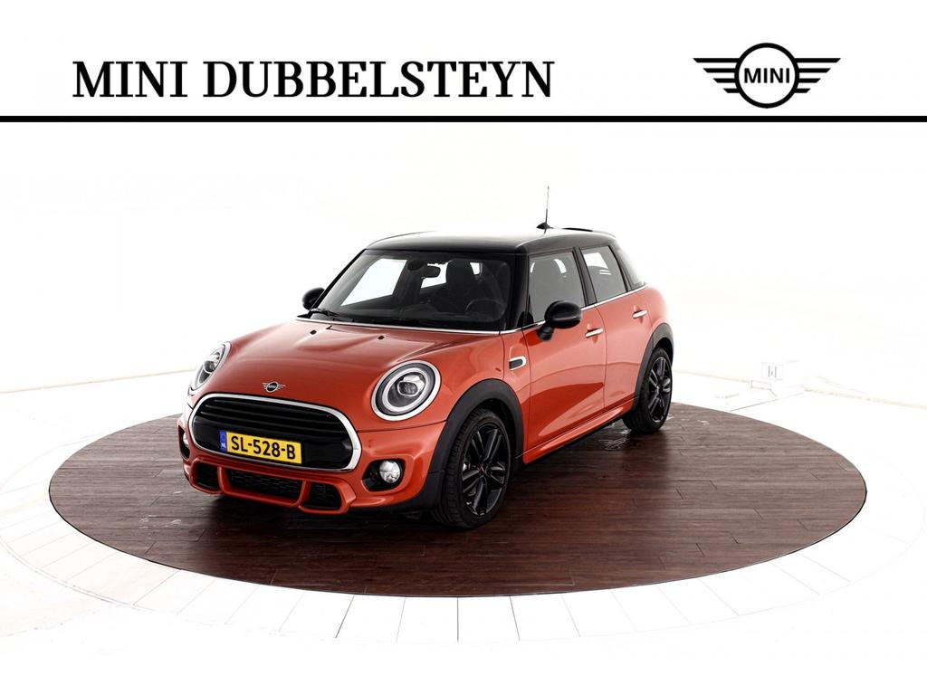 Mini 5-deurs Cooper jcw-pakket serious business