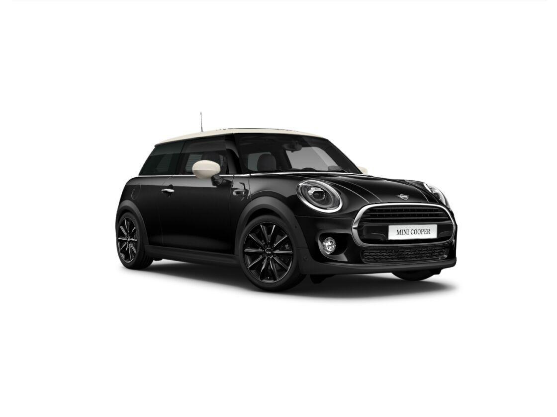 Mini 3-deurs Cooper 60 years edition serious business