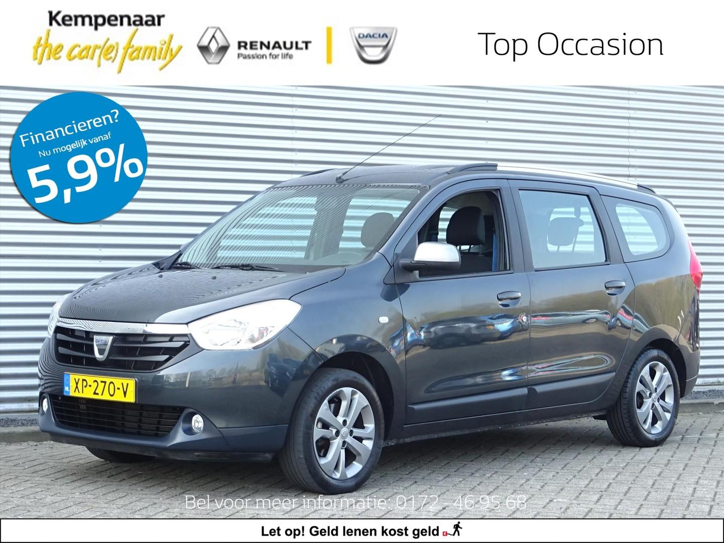 Dacia Lodgy 1.2 tce 115pk 5p 10th anniversary