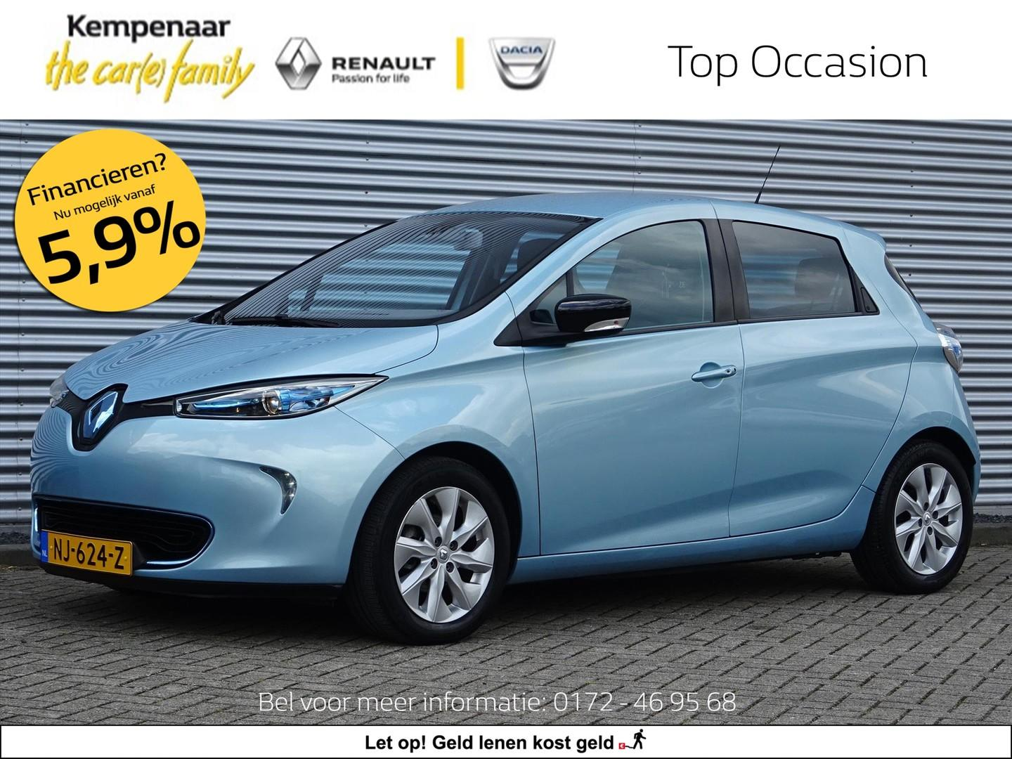 Renault Zoe Electric 88pk intens (excl. accuhuur)