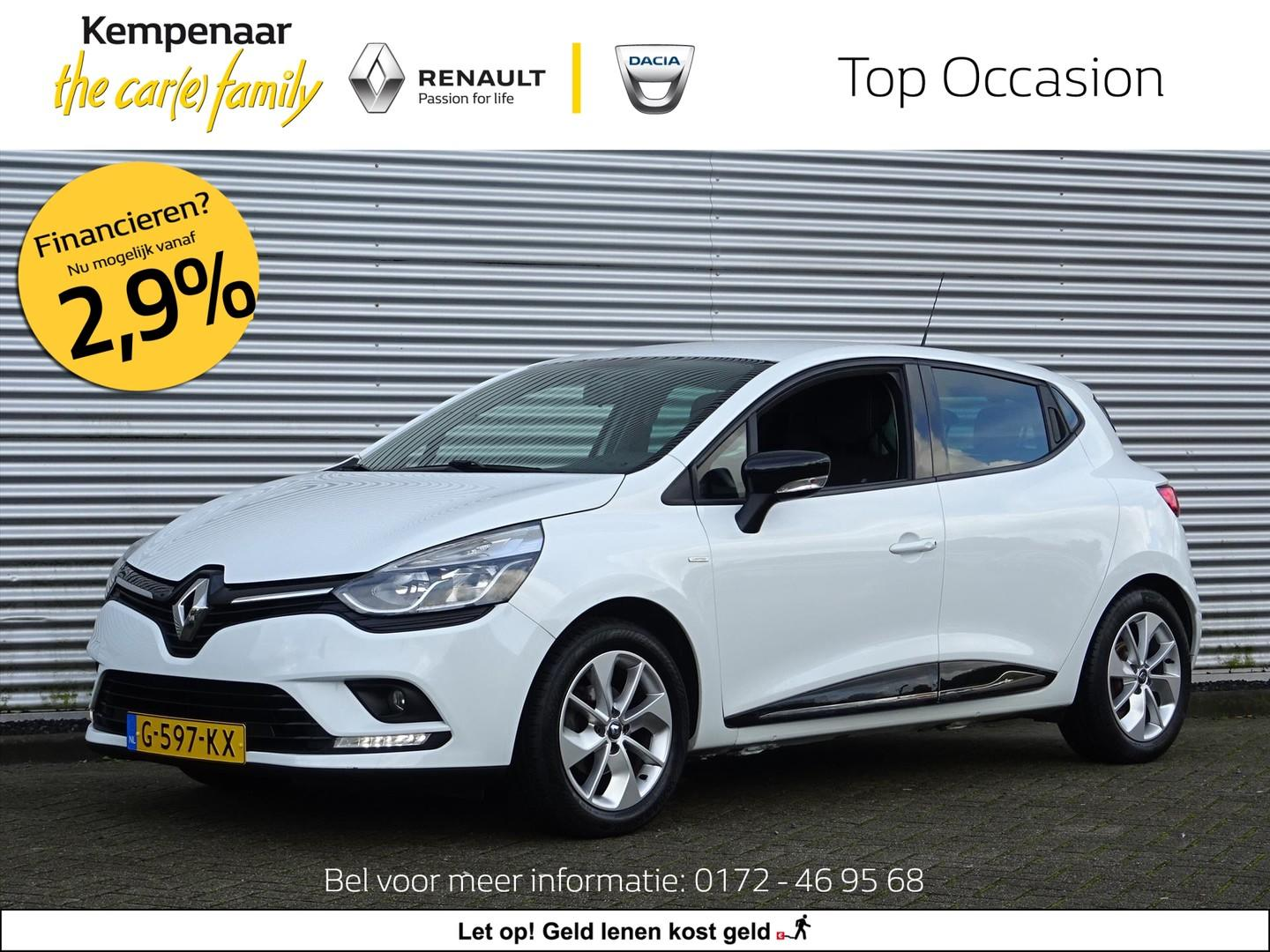 Renault Clio Energy tce 90pk ecoleader s&s limited