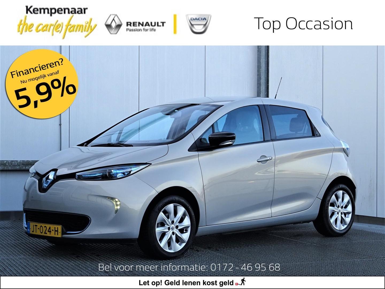 Renault Zoe Z.e. zen 65kw (excl. batterijhuur)