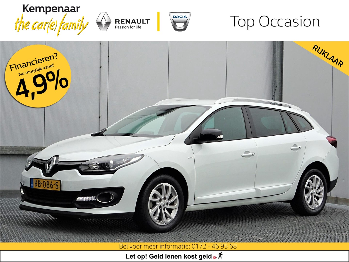 Renault Mégane 1.2 energy tce 115pk s&s limited