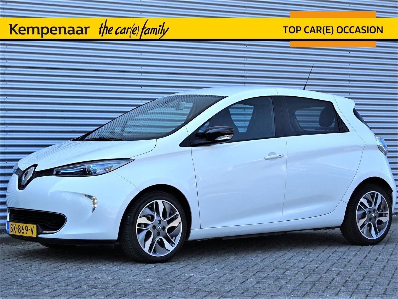 Renault Zoe R90 92pk (batterijhuur) intens z.e.40 incl btw!