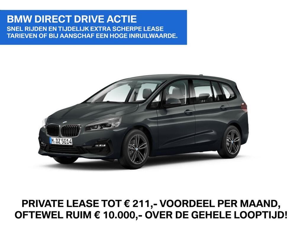 Bmw 2 serie gran tourer 218i 7p. corporate lease executive sport line