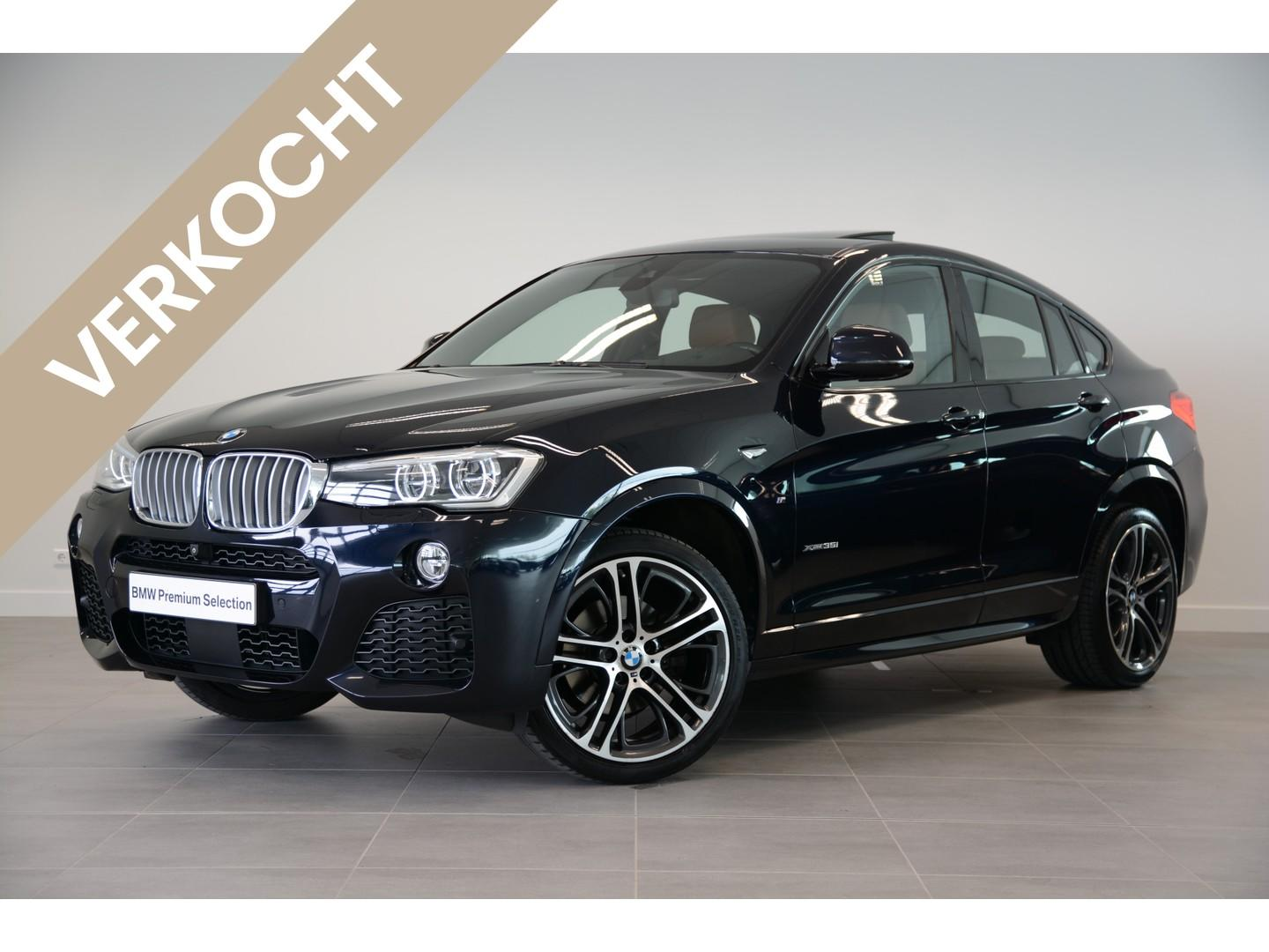 Bmw X4 Xdrive35i high executive m sportpakket aut.