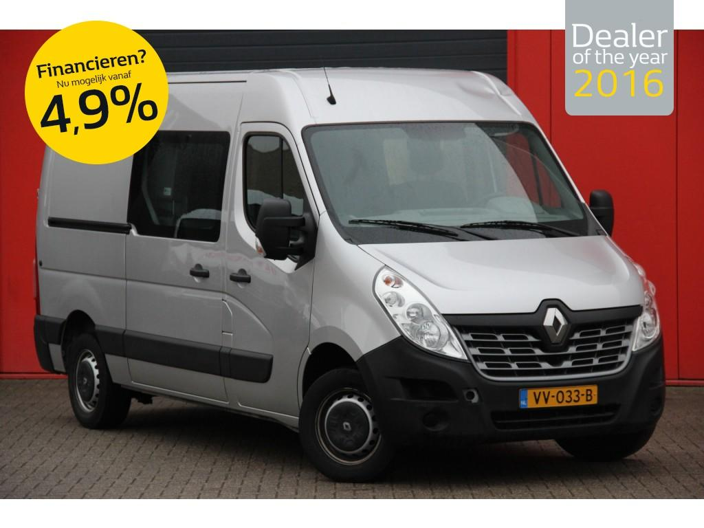Renault Master T35 2.3 dci l2h2 dubbele cabine