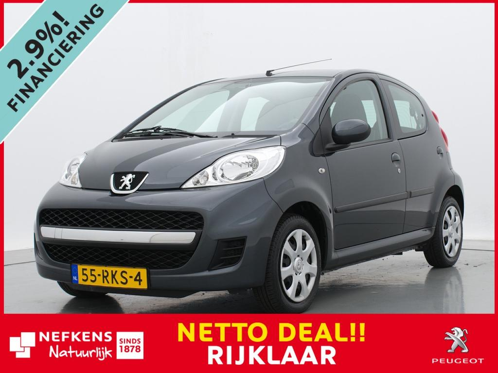 Peugeot 107 1.0 68pk automaat xs pack premium * airco * lage km-stand *