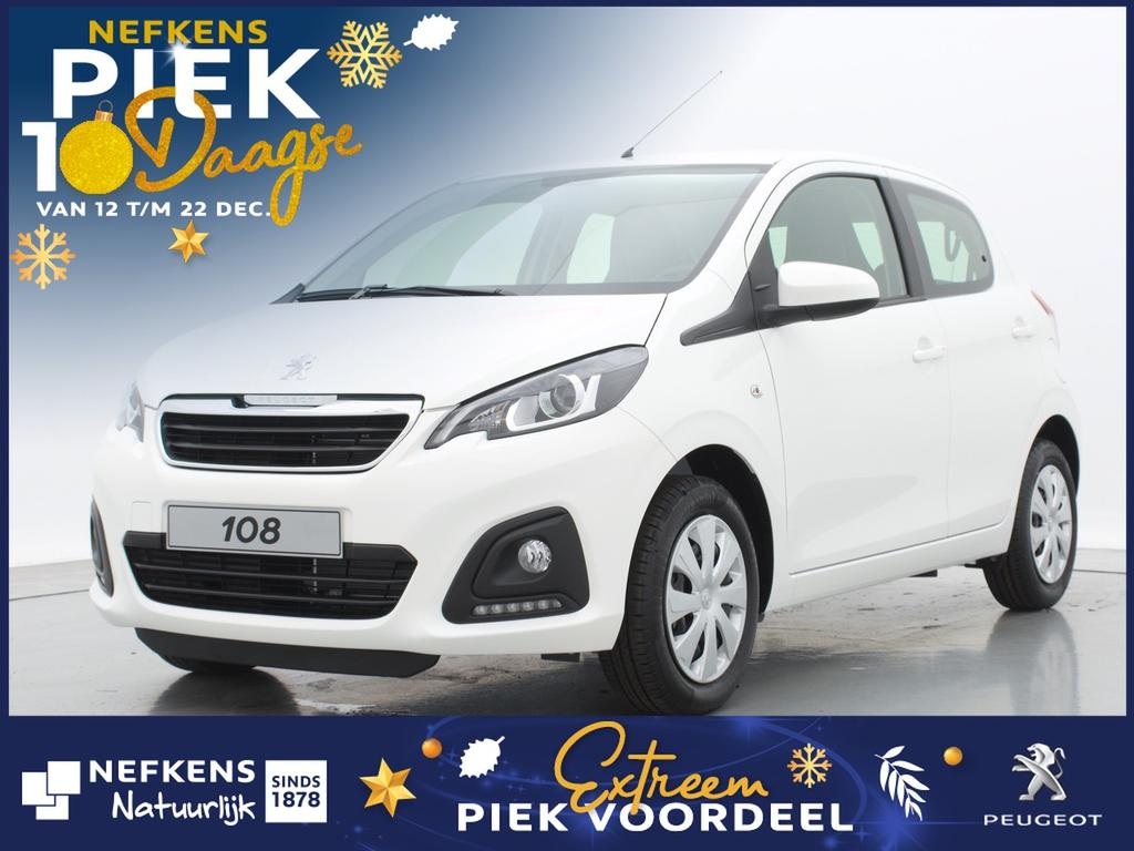 Peugeot 108 1.0 e-vti active of lease'm vanaf €209