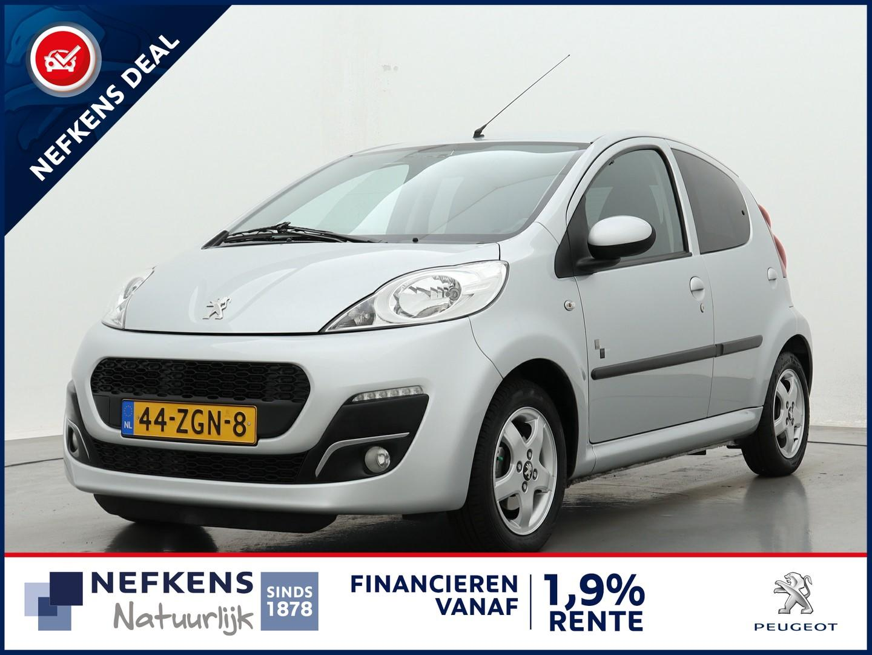 Peugeot 107 1.0 68pk black & silver