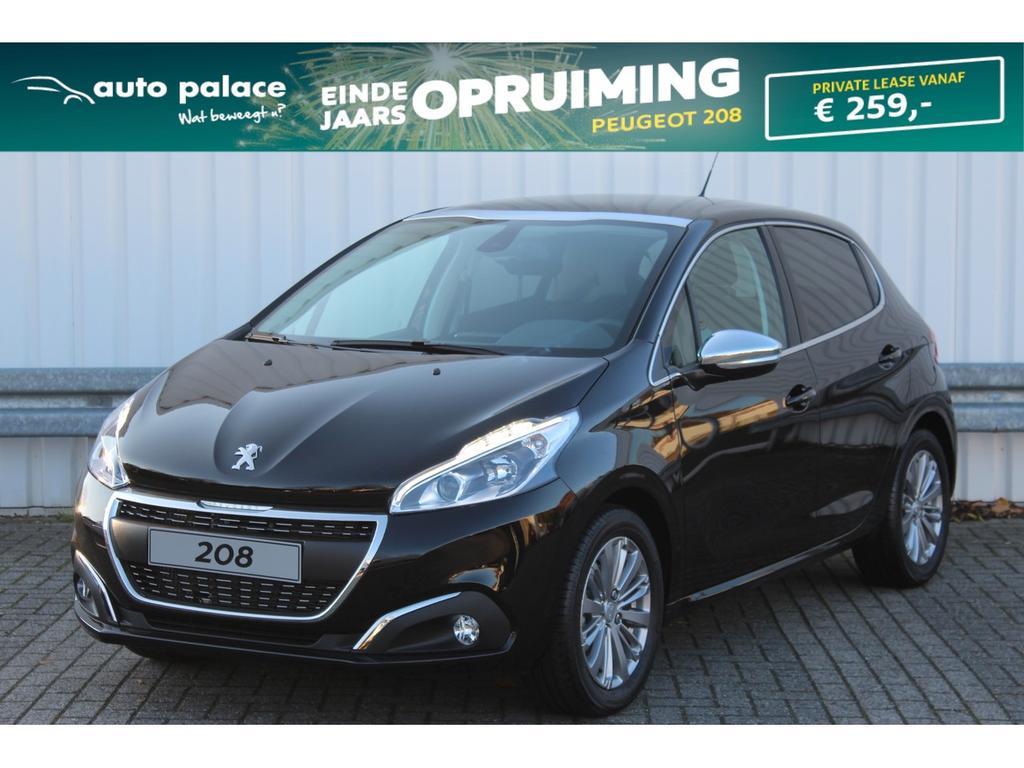 Peugeot 208 1.2 82pk 5drs allure navi, clima, rijklaar!