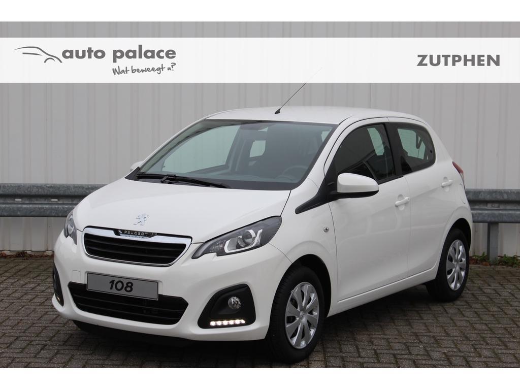 Peugeot 108 1.0 72pk 5drs active airco, rijklaar!