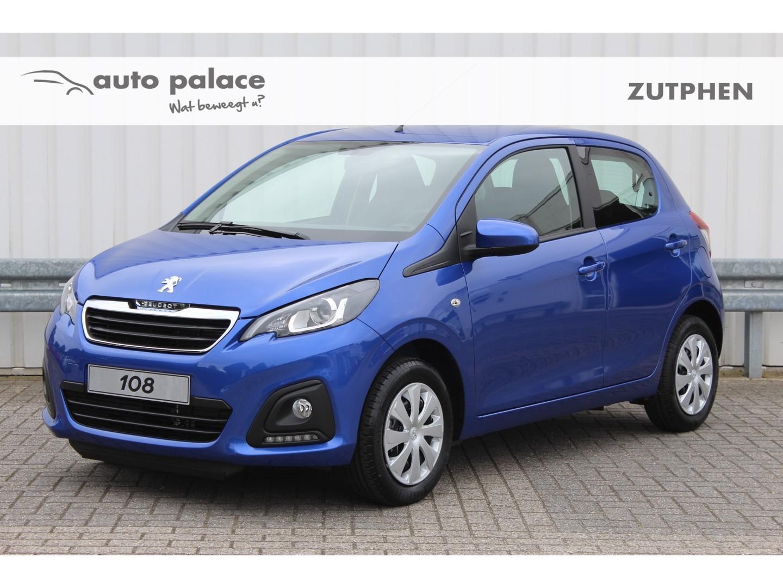 Peugeot 108 1.0 72pk 5drs active airco, bluetooth!