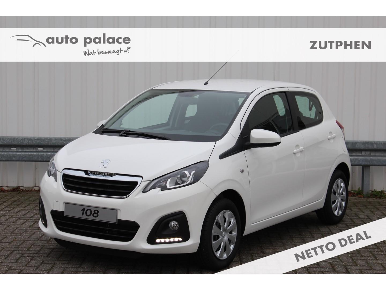 Peugeot 108 1.0 e-vti 72pk 5d active airco nettodeal