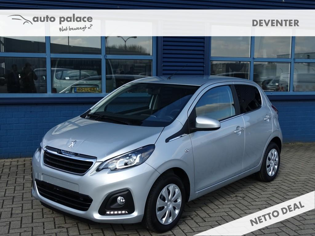 Peugeot 108 1.0 e-vti active airco, donker getint glas, elektrisch pakket, bluetooth